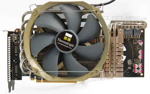 Thermalright Shaman и VRM G2 на GeForce GTX 480