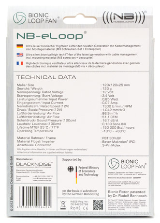 Noiseblocker NB-eLoop B12-2