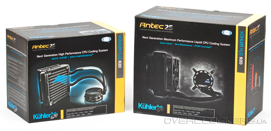 Antec KUHLER H2O 620 и KUHLER H2O 920