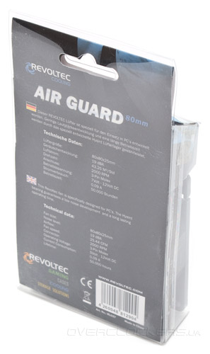 Revoltec Air Guard 80mm