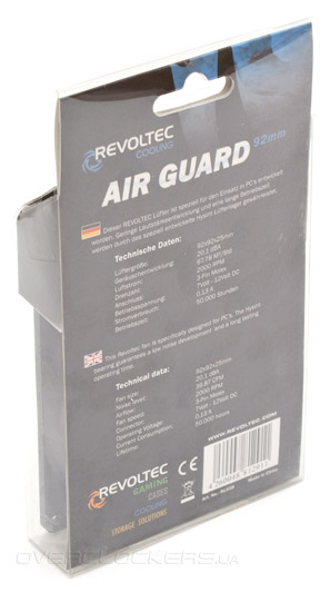 Revoltec Air Guard 92mm