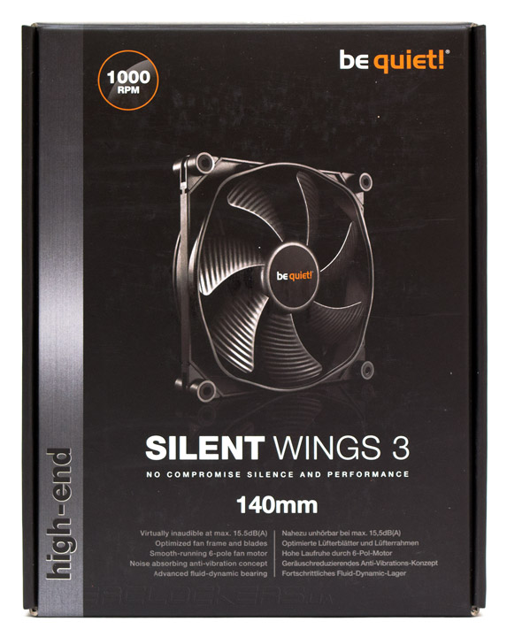 be quiet! Silent Wings 3