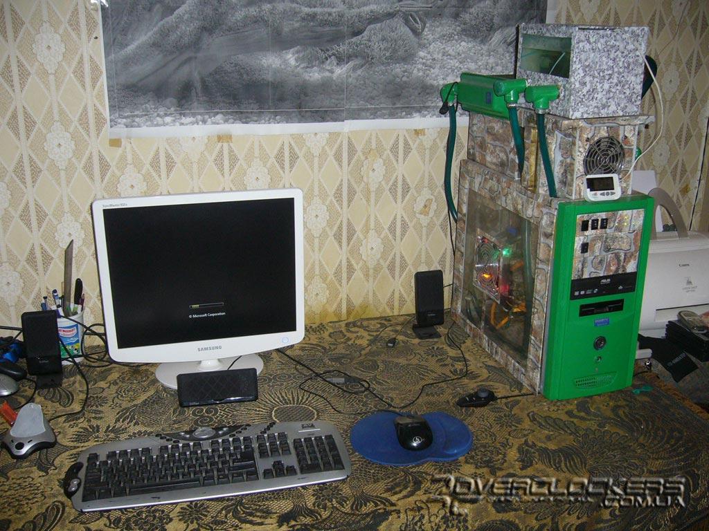 Система охлаждения на компьютер своими руками