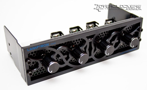 Lamptron Fan Controller Limited Edition FC3-A Black