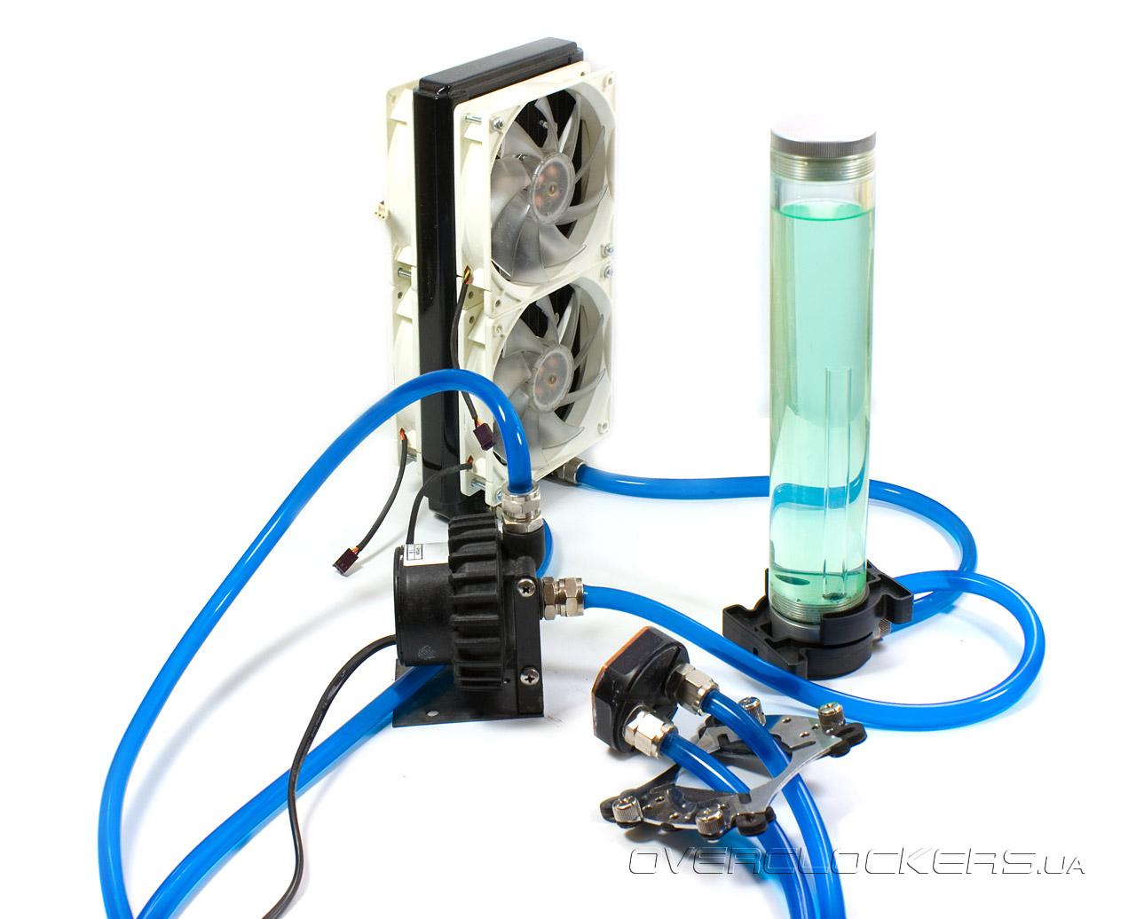 Система водяное охлаждения