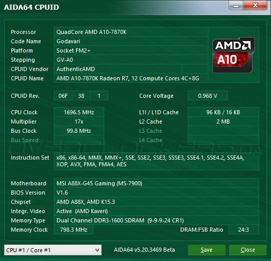 Обзор и тестирование гибридного процессора AMD A10-7870K на ядре Godavari