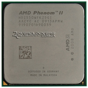 AMD Phenom II X2 550 BE