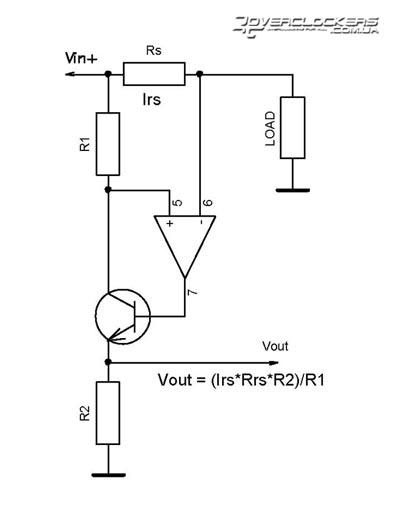 Схема специально для измерения тока в верхнем плече.  Миниатюры.  Реклама.  Re: Измерение тока.