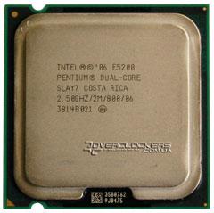Процессор Intel Pentium Dual-Core E5200