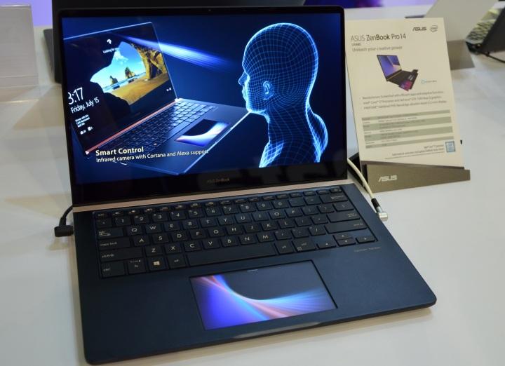 Обновленные ноутбуки ZenBook и другие продукты ASUS на выставке IFA 2018