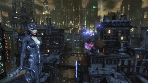 Batman: Arkham City. Игра поддерживает DirectX 9 и DirectX 11. Во втором