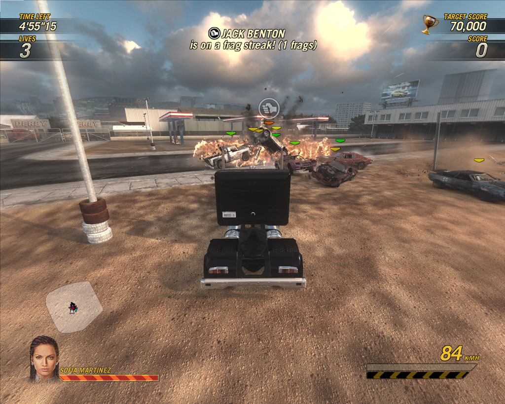 скачать игру Flatout Ultimate Carnage через торрент - фото 8