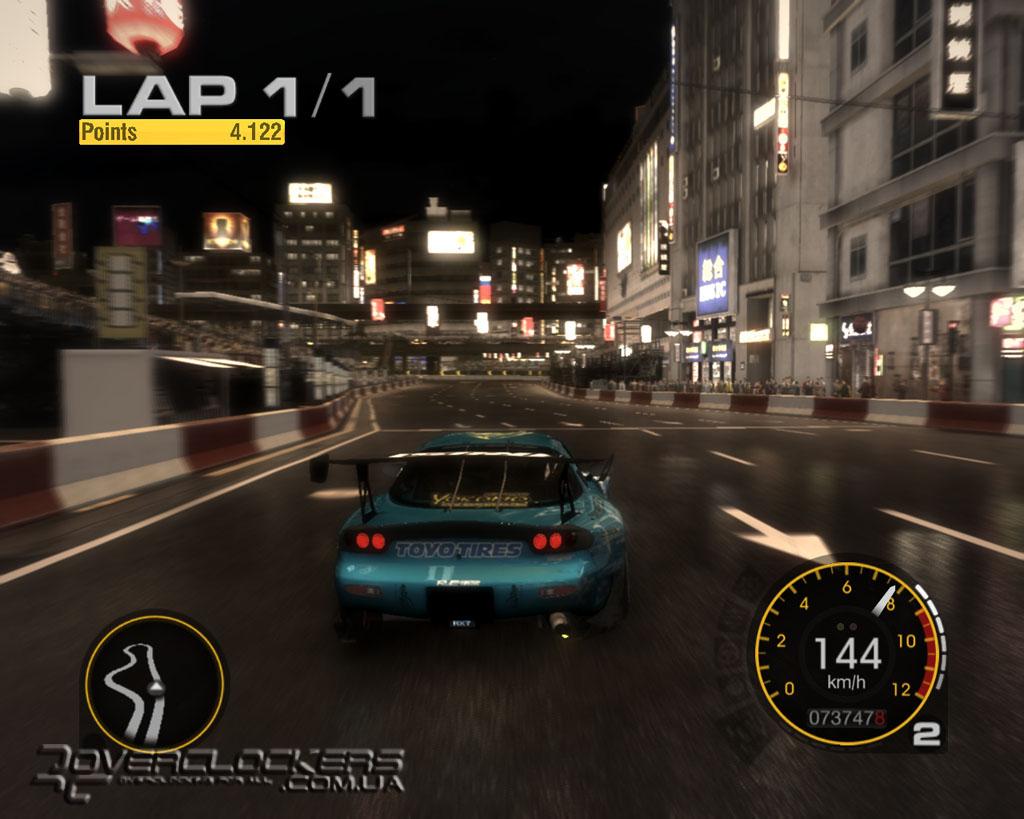Играть ночные гонки