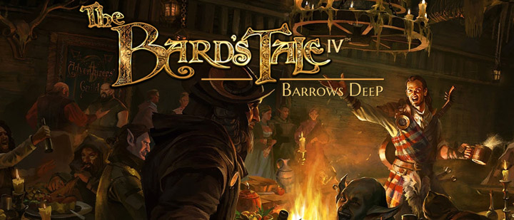 The Bard's Tale IV: Barrows Deep. Боевые барды