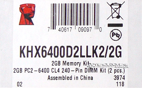 Kingston KHX6400D2LLK2/2G