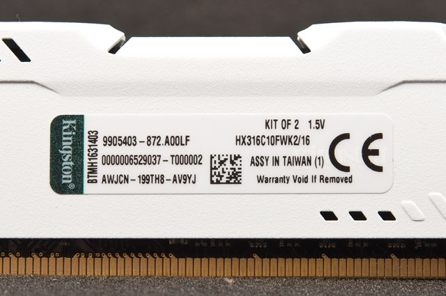 Kingston HX316C10FWK2/16