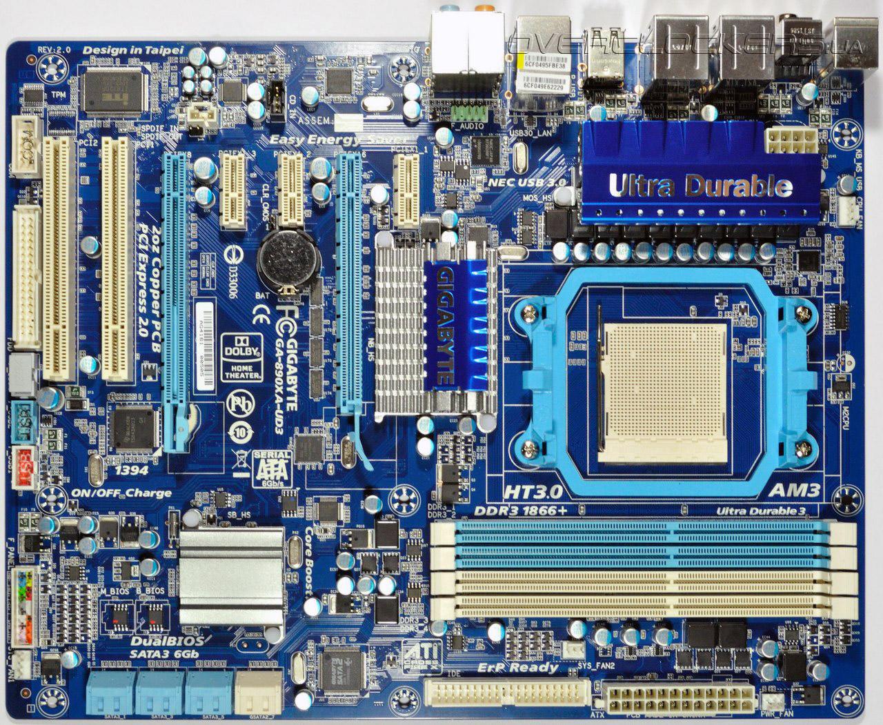 Driver for Gigabyte GA-890XA-UD3 (rev. 2.0)