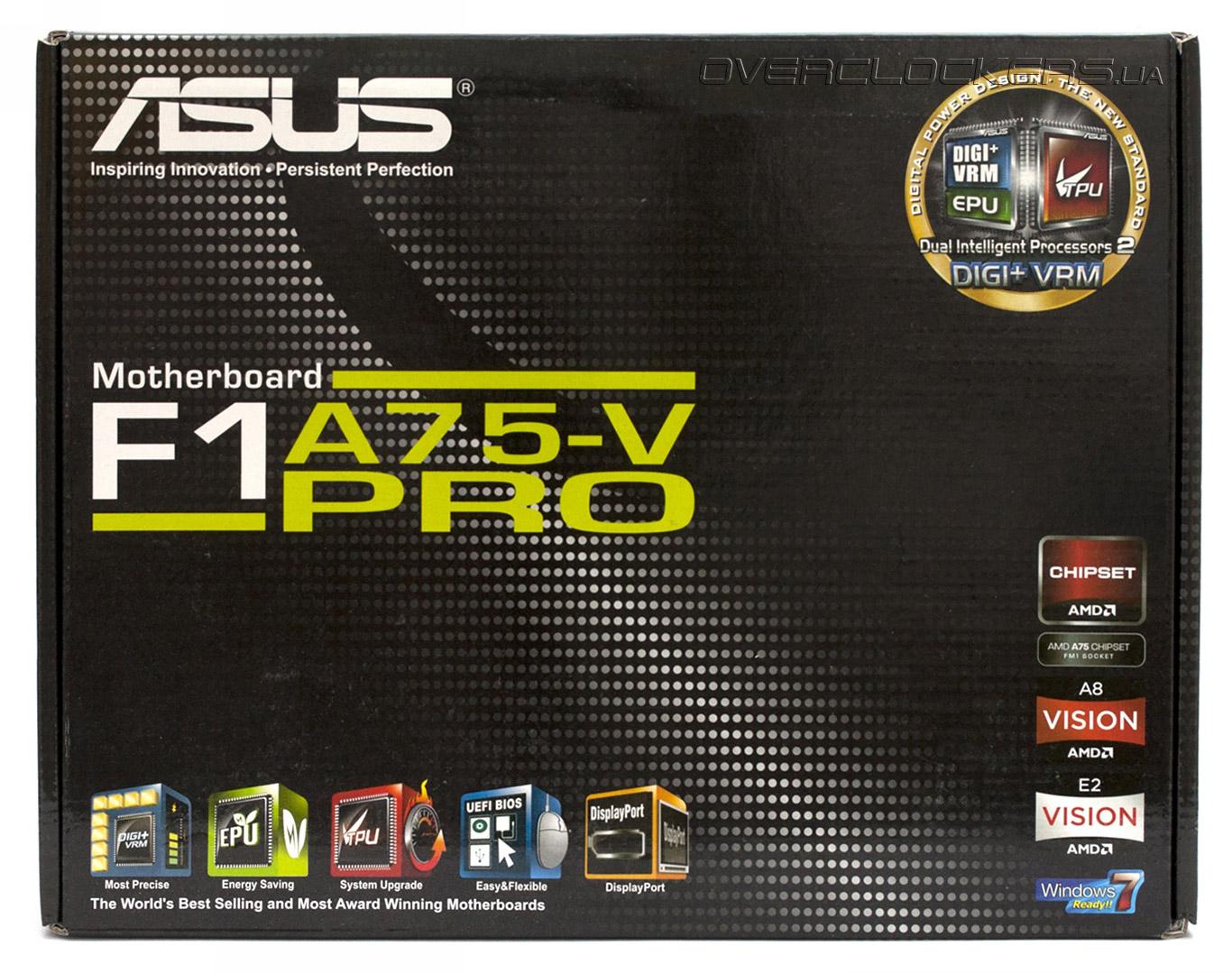 Asus F1A75-M PRO Realtek Ethernet New