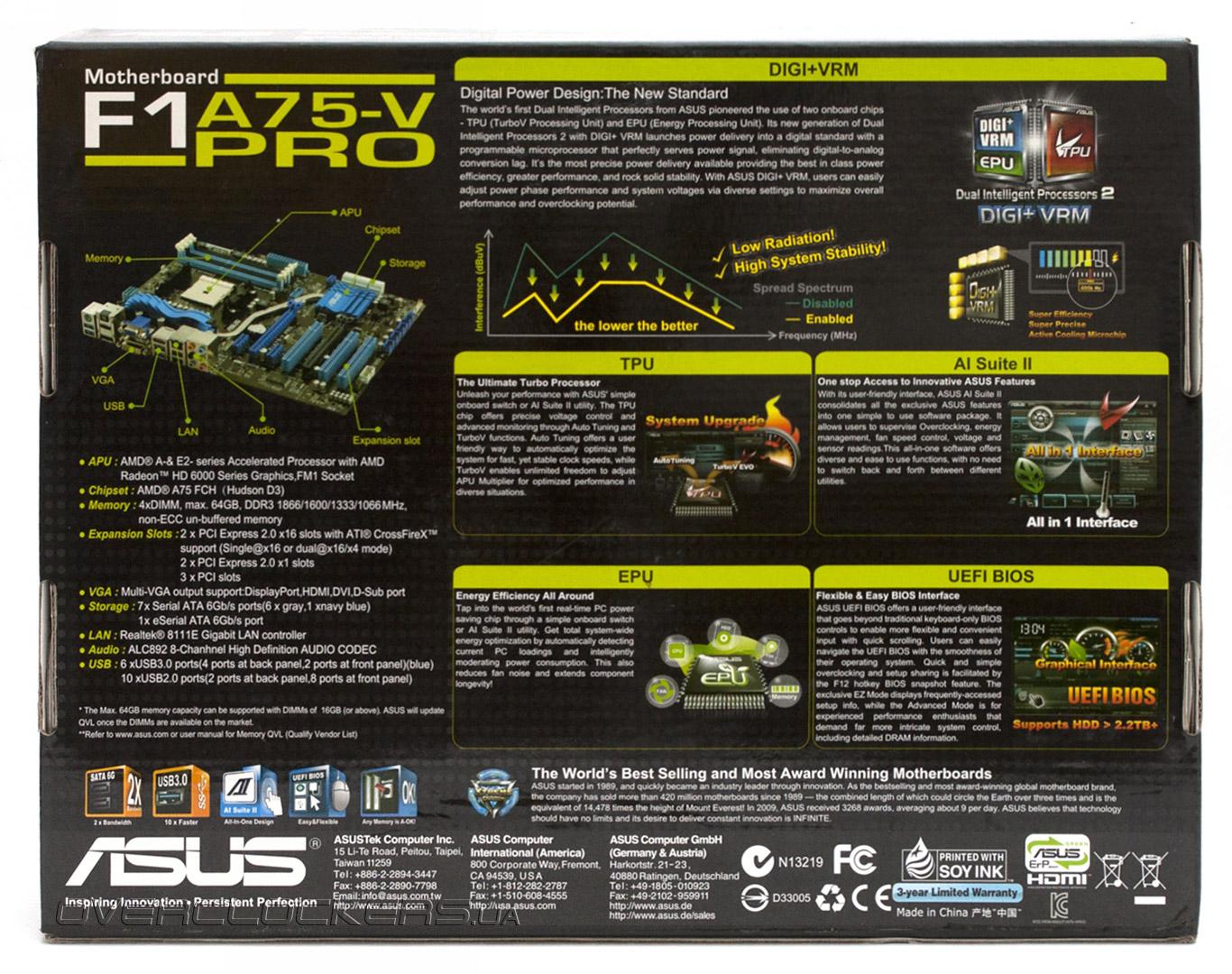 Asus F1A75 AI Suite II Driver
