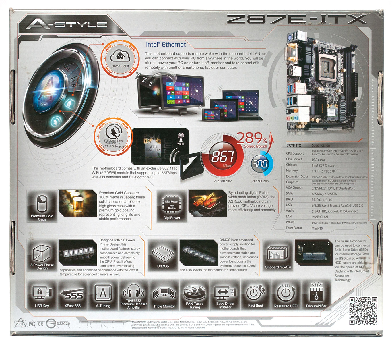 ASROCK Z87E-ITX INTEL GRAPHICS TREIBER HERUNTERLADEN
