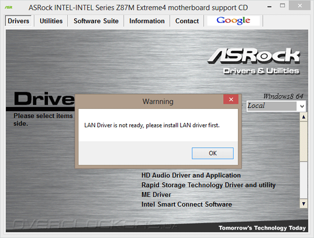 DRIVERS: ASROCK Z87M EXTREME4 INTEL SMART CONNECT