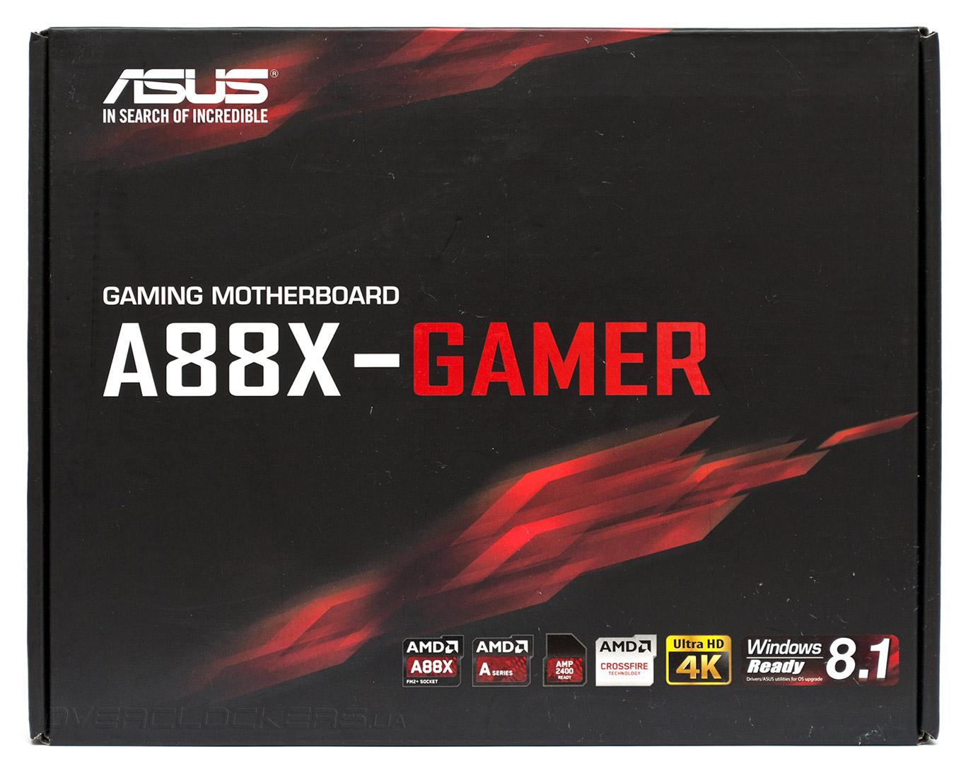 ASUS A88X-GAMER Driver Download