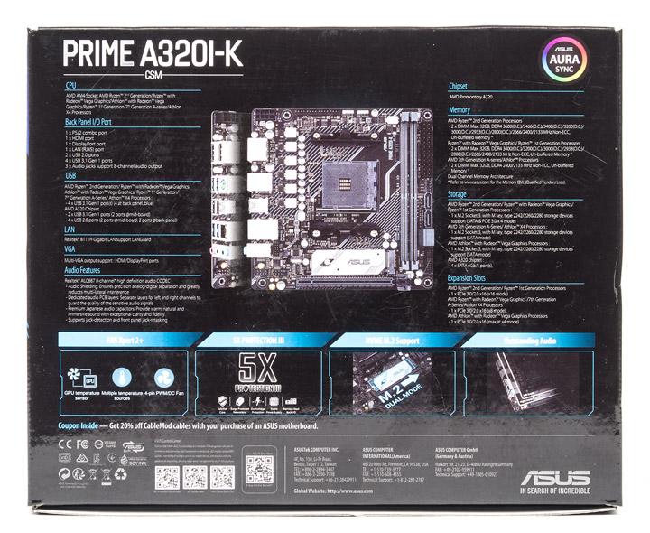 ASUS Prime A320I-K