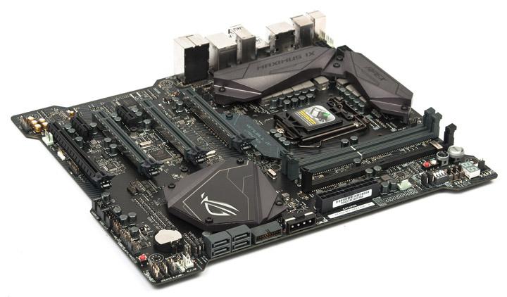 ASUS ROG Maximus IX Apex на чипсете Intel Z270