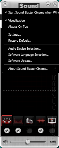 Creative Sound Blaster Cinema
