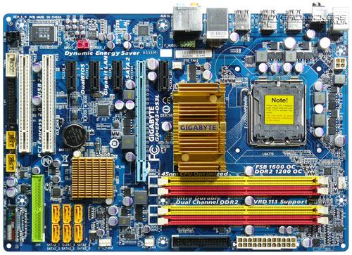 Плата Gigabyte GA-EP43-DS3L