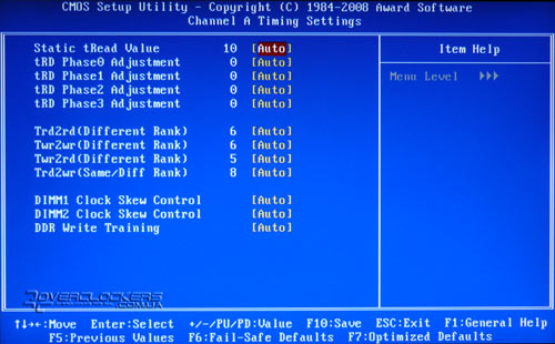 BIOS платы Gigabyte GA-EP43-DS3L