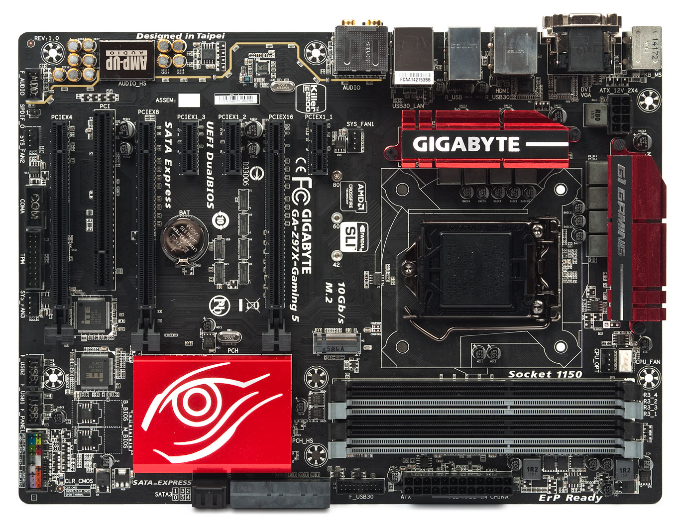 Gigabyte GA-Z97X-Gaming G1 WIFI-BK BigFoot LAN 64 BIT