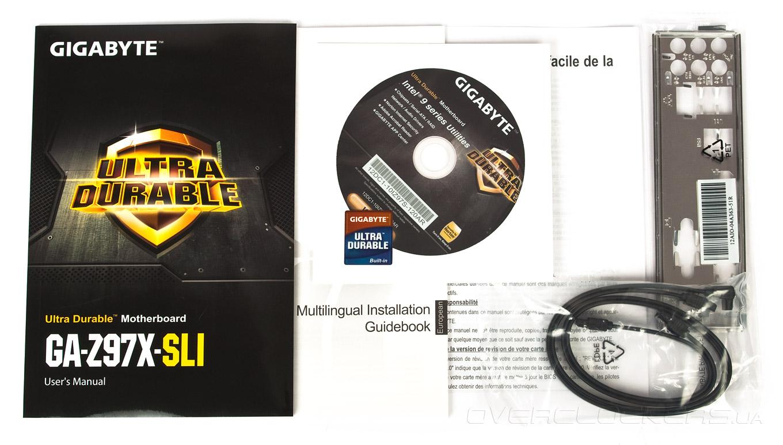 Обзор материнской платы Gigabyte GA-Z97X-SLI для процессоров Haswell