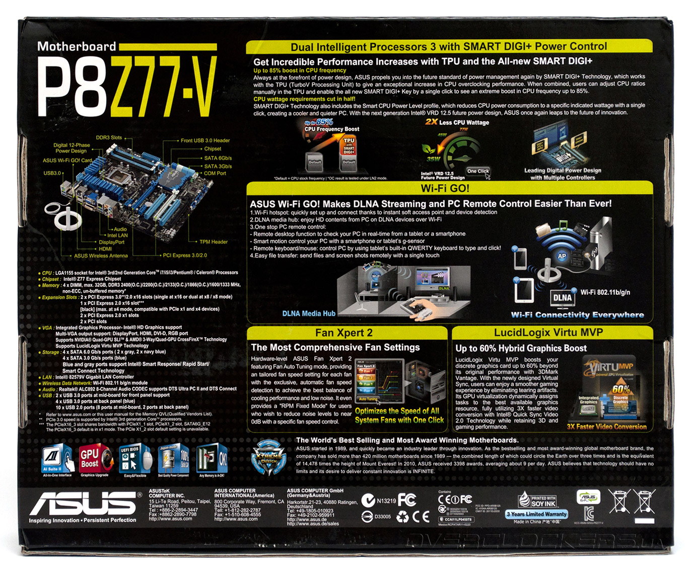 ASUS P8Z77-V LK FAN XPERT 2 TELECHARGER PILOTE