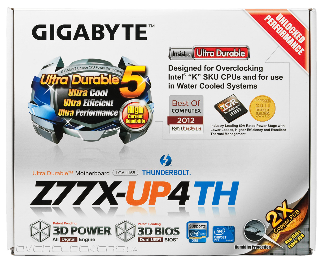 Gigabyte GA-Z77X-UP4 TH 3D Power Driver (2019)