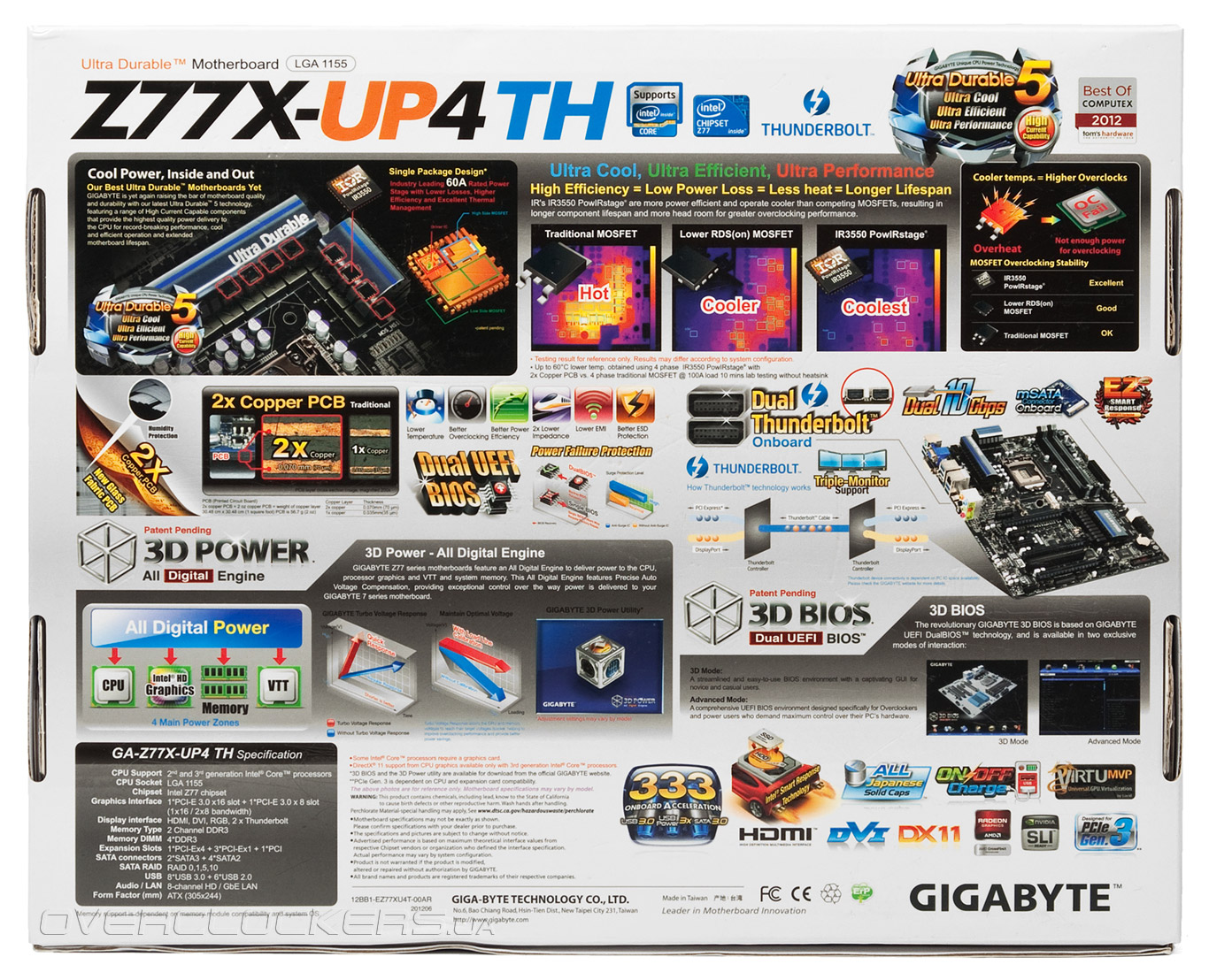 Gigabyte GA-Z77X-UP4 TH 3D Power Drivers (2019)