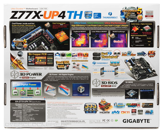 Gigabyte GA-Z77X-UP4 TH