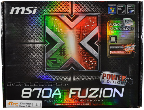 MSI 870A Fusion Power Edition