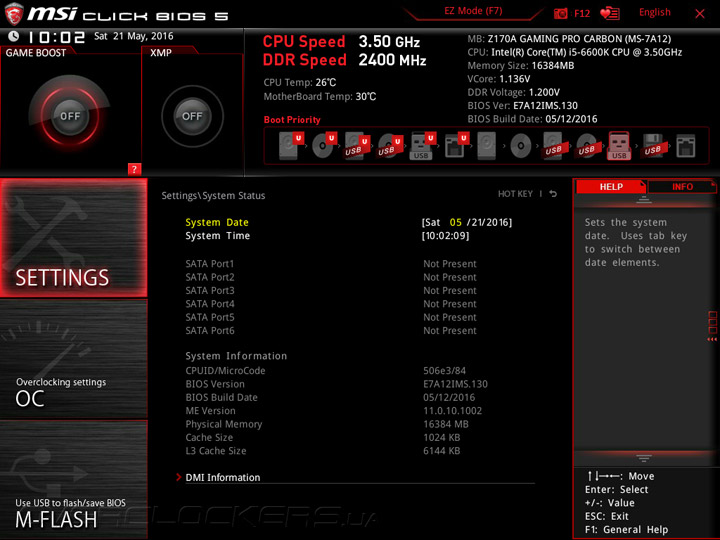 MSI Z170A Gaming Pro Carbon