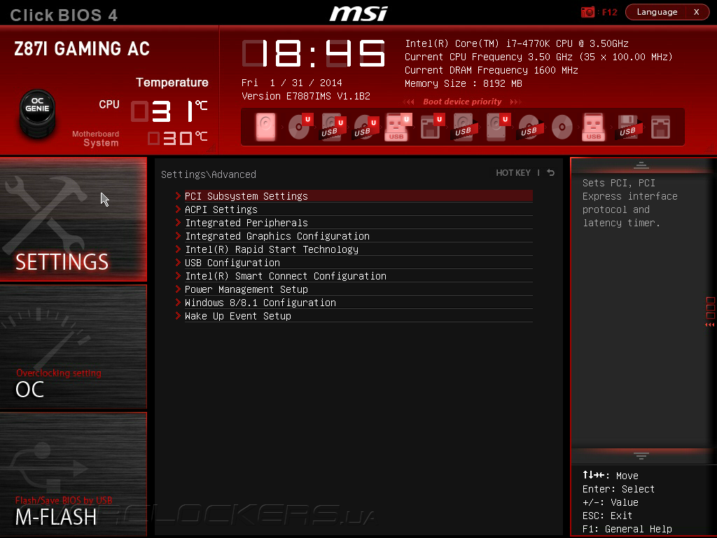 MSI Z87I Gaming AC Intel Smart Connect Technology Driver for Windows