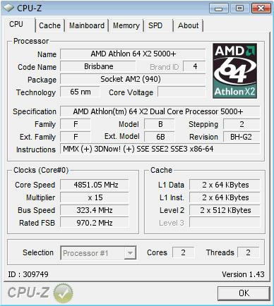 программа для розгона процессора amd athlon 5000