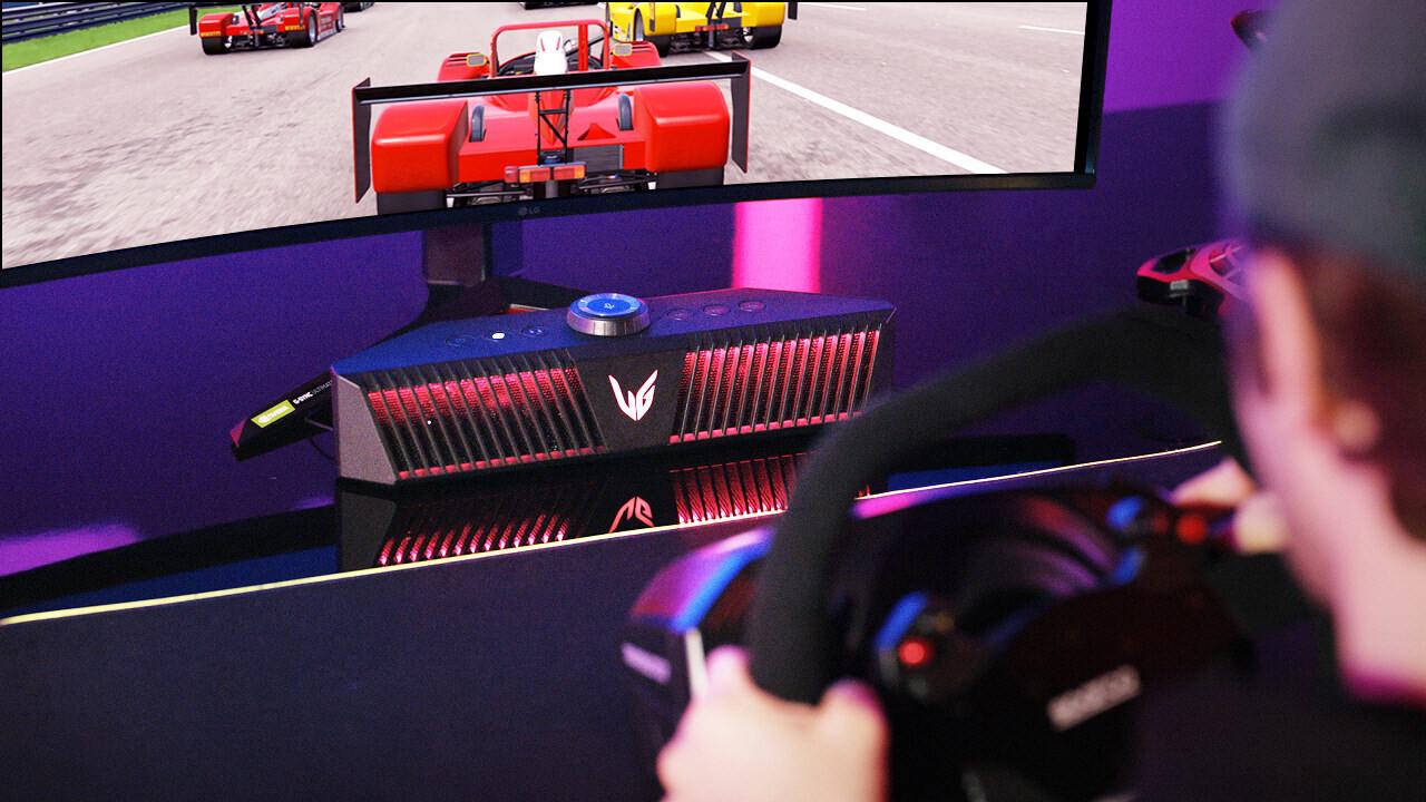 LG UltraGear GP9: портативные геймерские колонки с RGB-подсветкой за 500 долларов