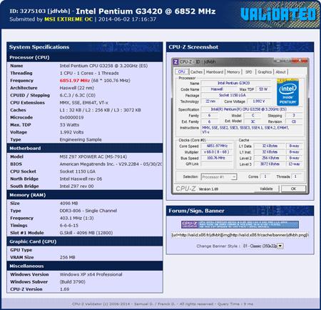 Pentium G3258 �������� �� 6,85 ���