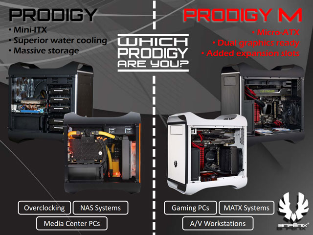 корпус BitFenix Prodigy M