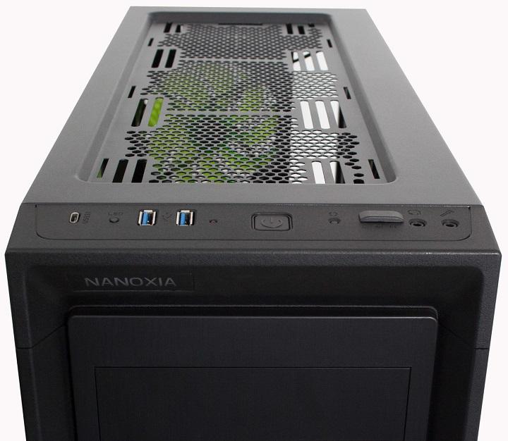 Nanoxia выпустила новый корпус CoolForce 2 Rev