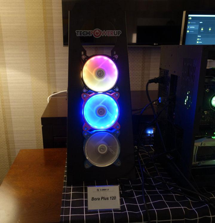 Вентиляторы Lian Li Bora Plus 120