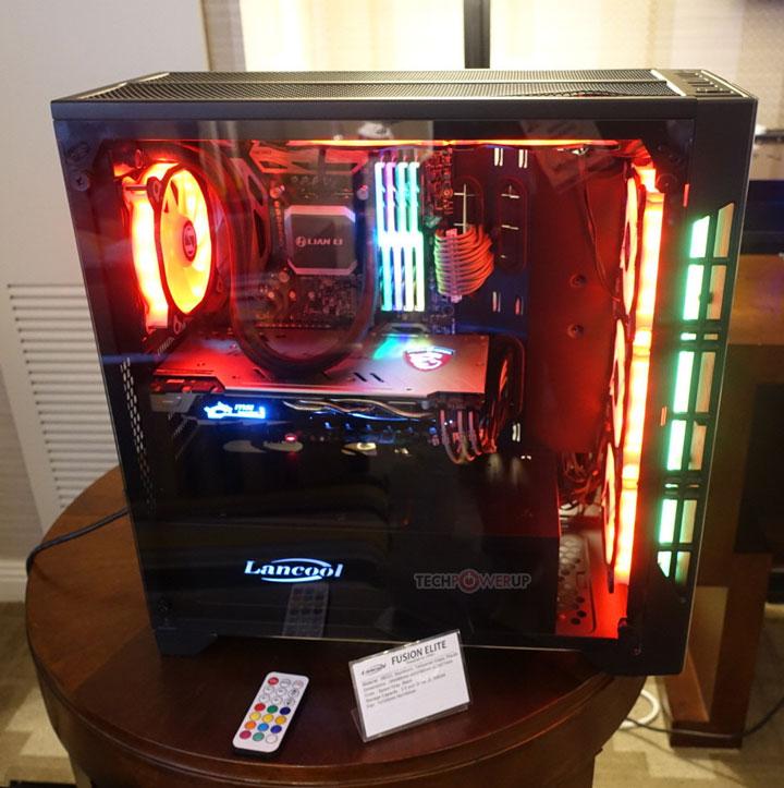 Компьютерное шасси Lancool Fusion Elite