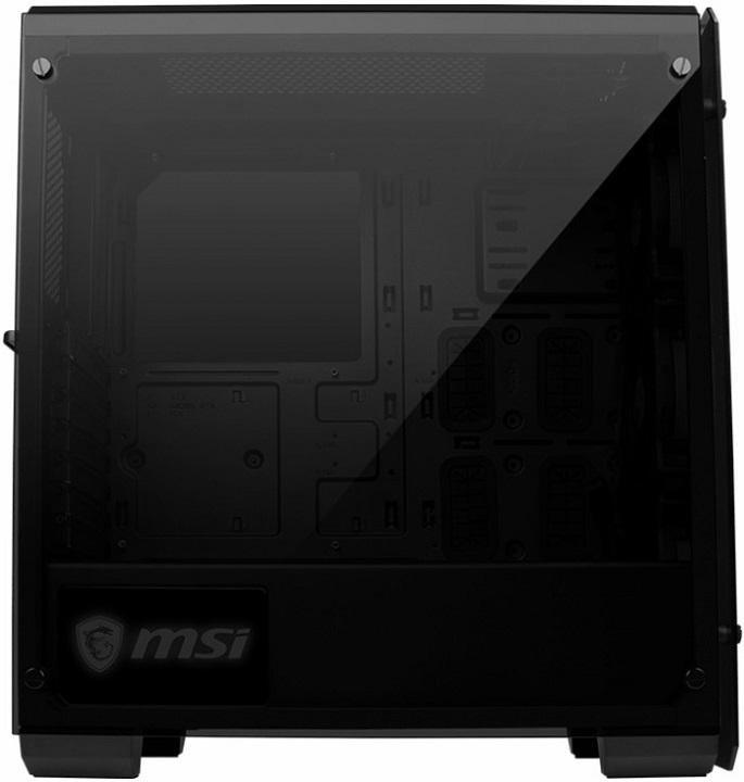 MSI Mag Pylon: корпус для игровогоПК спанелями иззакалённого стекла