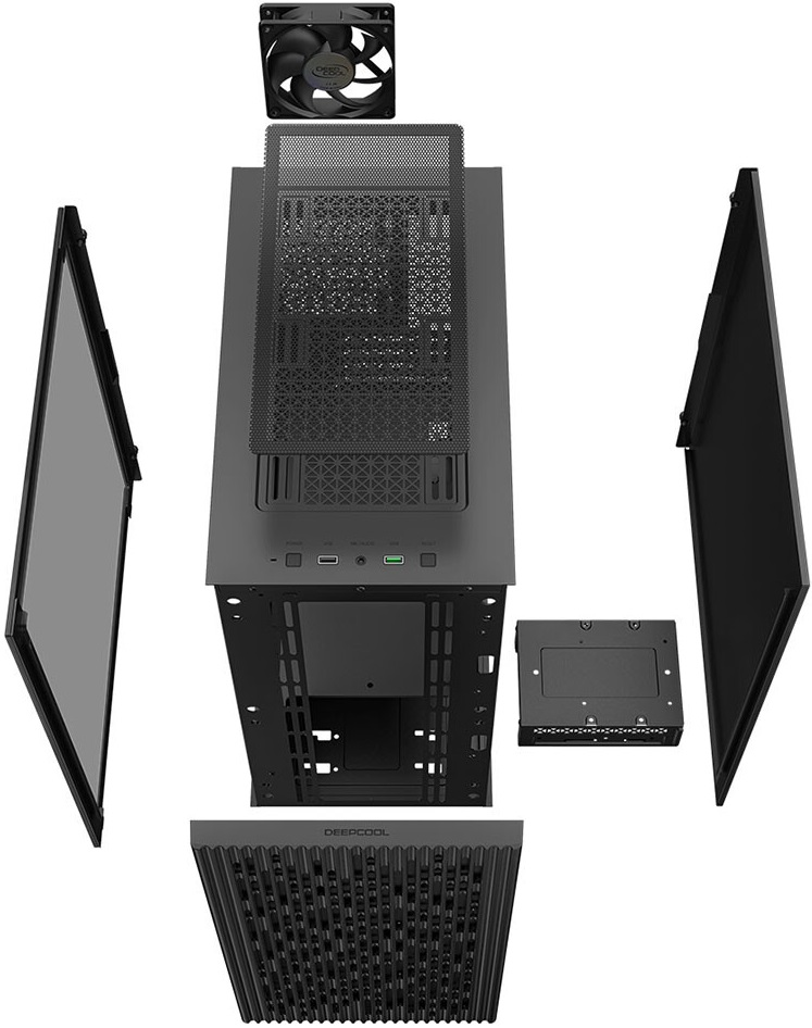Deepcool представила недорогой корпус Matrexx 40 для плат microATX