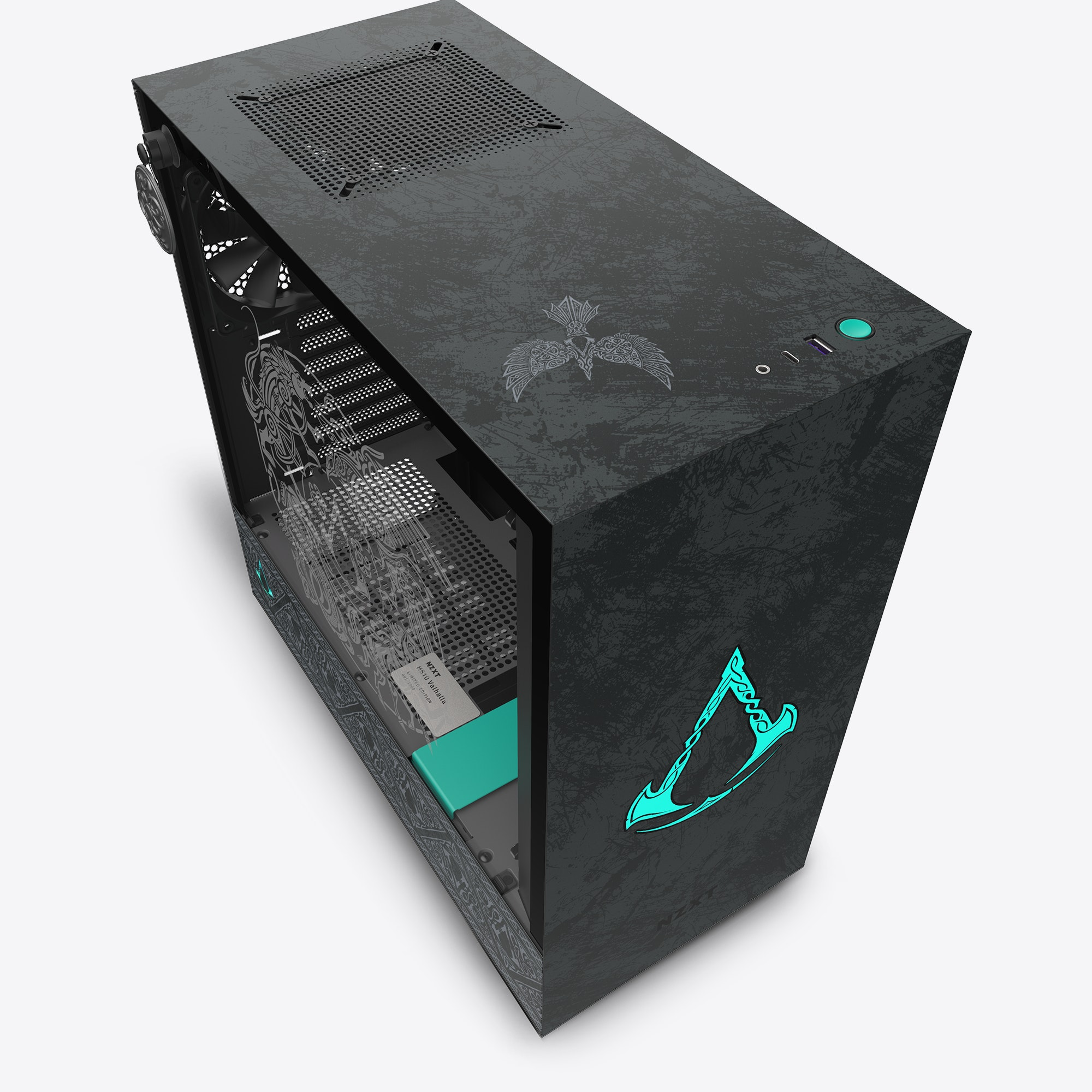 NZXT выпустила корпус H510 для фанатов Assassin's Creed Valhalla